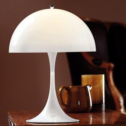 139 72 5 De Reduction Lampe De Bureau Moderne Panthella Lampe De Table Blanche Salon Chambre Lampe De Chevet Panthella Lampe De Table Dia 400mm H