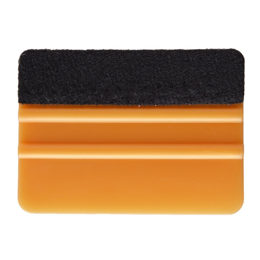 EHDIS 3M Gold Vinyl Film Fabric Felt Squeegee Snow Scraper Car Accessories 3D Carbon Fiber Car Wrapping Tool Window Tints Tool carbon fiber vinyl film wrapping scraper tools bubble window wrapping film squeegee scraper car styling stickers accessories