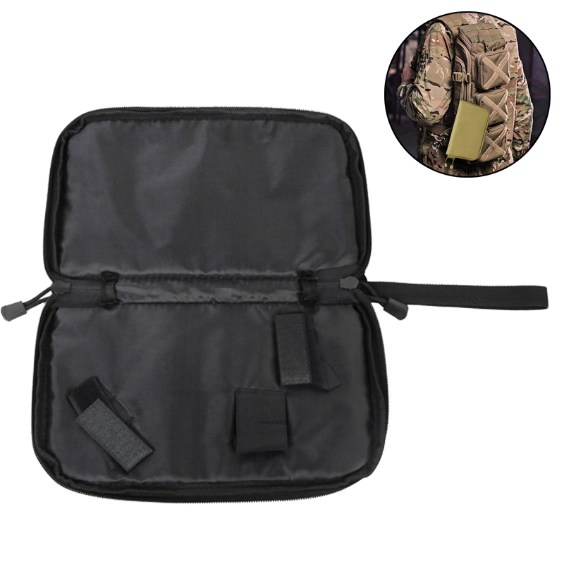 Tactical Portable Pistol Holster Concealed Military Handgun Carrier Pouch Soft Protection Case Gun Accessories for Hunting Comba mini kompas sleutelhanger
