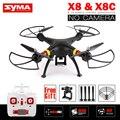 Syma X8 X8C RC Drone НЕТ Камеры 2.4 Г 6 Оси Quadcopter RTF Вертолет может Соответствовать Gopro/Xiaoyi/SJCAM VS Syma X8W X8HG X8HW X8G