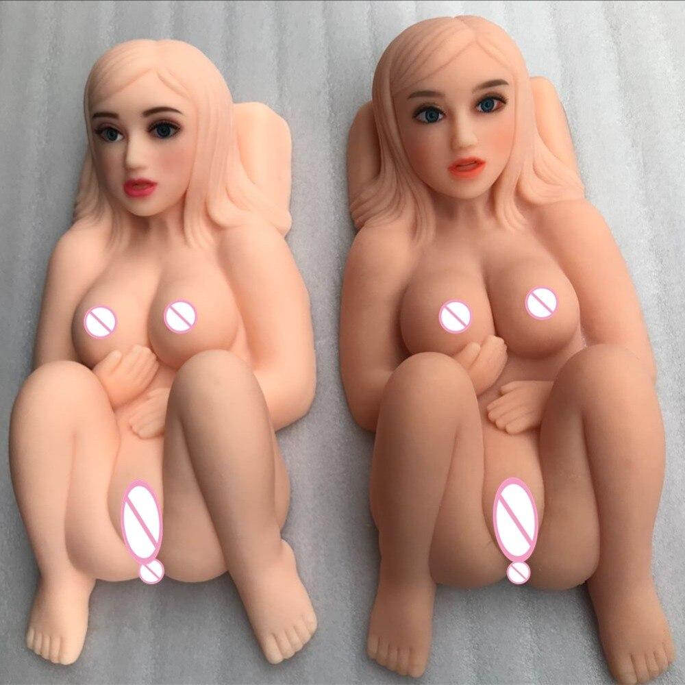 Le plus récent! Oralsex gros seins solide poupée de sexe TPR vrai vagin et jouet sexuel Anal pour homme produits pour adultes Sex Shop