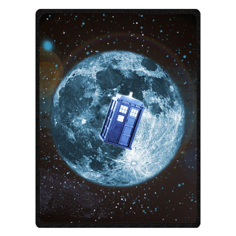 Soft Doctor Who Print Sofa Bed Travel Warm Blanket Summer Air Conditioning Throw Blankets For Baby Kids