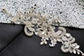 TOPQUEEN S74A Free shipping Stock DIY Formal Wedding pearls Applique Evening Dresses Trimming