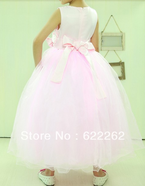 Party Dress For Girls Flower Girl Dresses Macys Baby Uk Gown Scoop Off The Shoulder  Sleeveless Beading A Line Ankle 2015 Outlet-in Flower Girl Dresses from ... 16313b2931c8