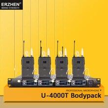 цена на Hot Selling Wireless Mic Professional Wireless Microphone System F4000 High Quality Wireless Microphone