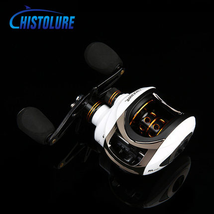 MC&LURE High Speed 6.3:1 Baitcasting Reel 11 BBs Fishing Gear Water Drop Wheel Right/Left Hand Bait Casting Fishing Reel stealth 3bb 1rb plastic body bait casting carp fishing reel high speed baitcasting pesca 6 2 1 lure reel
