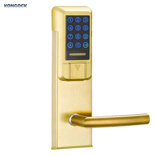 Smart Lock Cerradura Inteligente Stainless Steel Electronic Keyless Entry Card induction Door lock for Apartment and Home bluetooth smart electronic keyless keypad home entry door lock with smartphone controlled for hotel and apartment compatible