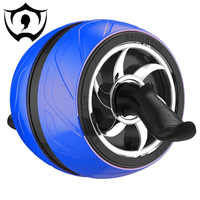 Wnnideo Abs Roller Wheel Automatic Rebound Mute Abdominal Wheel Exercise & Fitness Equipment for Adult Sky Blue