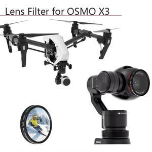Osmo Zenmuse x3 cámara DJI nd8 neutral densidad filtro para robot DJI inspire 1