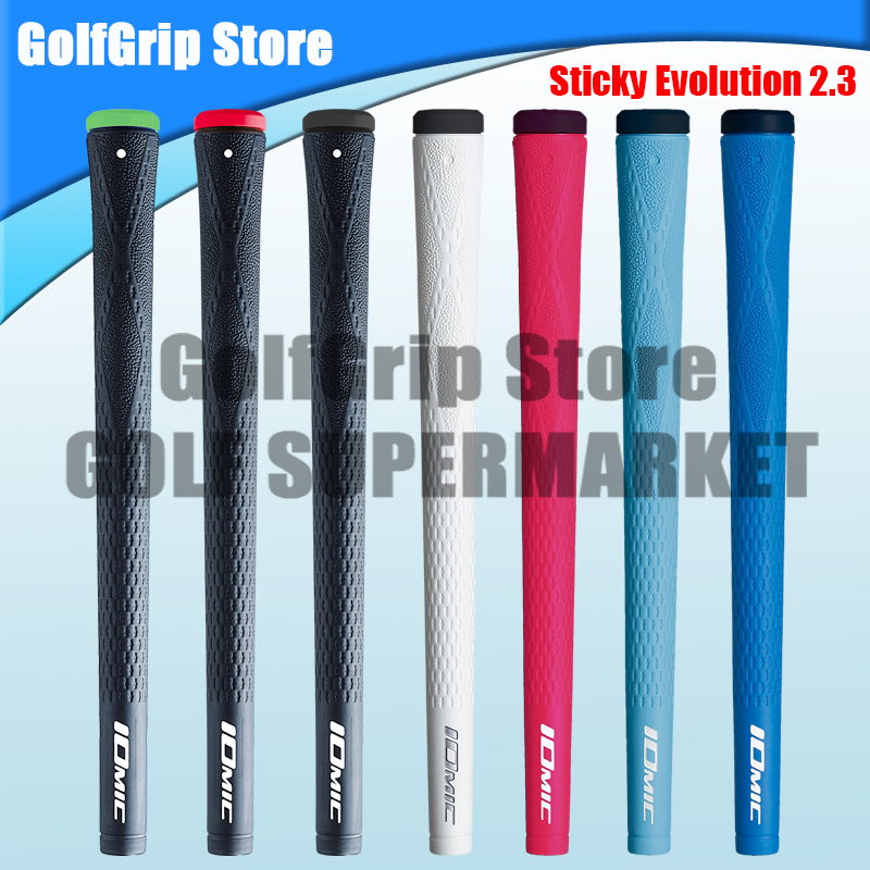 IOMIC Sticky Evolution 2 3 Iron wood club grip TPE material high performance 13pcs lot