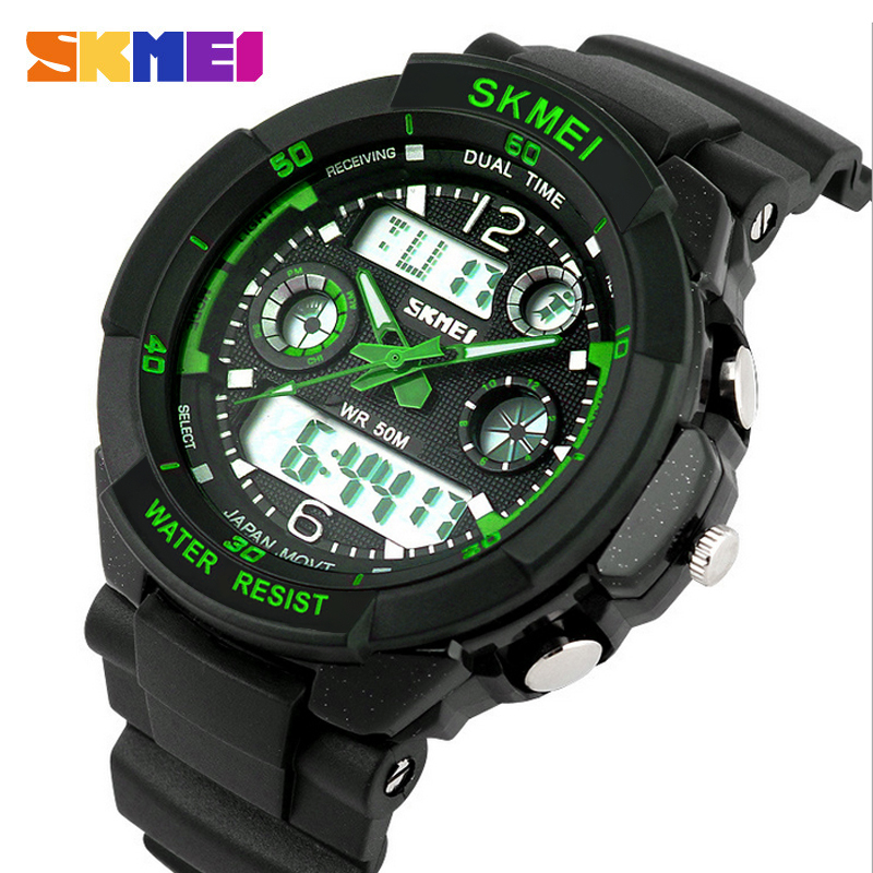 Fashion Watch Men S Shock Waterproof LED Sport Army ...