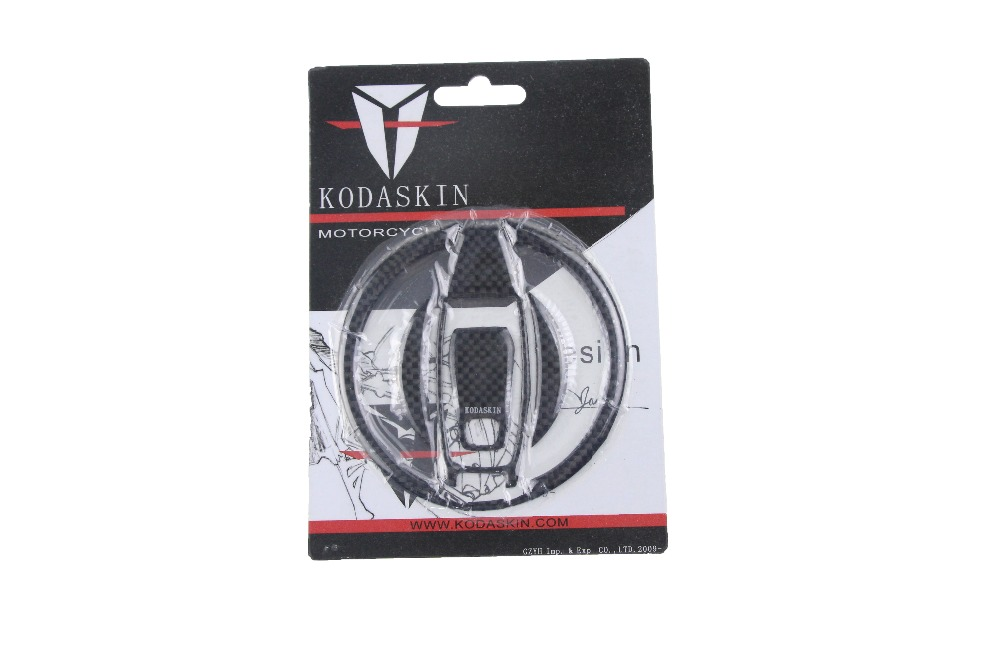 KODASKIN Carbon Tank Pad Sticker Decal emblem GRIPPER STOMP GRIPS EASY for DUCATI SCRAMBLER in Decals Stickers from Automobiles Motorcycles