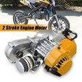 Изысканно спроектированный прочный 49cc мини двигатель для велосипеда грязи с коробкой передачи желтый Потяните Старт Мини Мото желтый