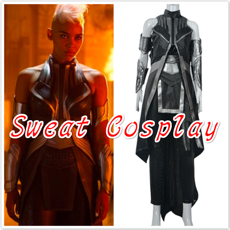 X Men Apocalypse storm Costume adult Halloween superhero costumes for women Ororo Munroe storm X men Cosplay Costume custom made-in Movie u0026 TV costumes from ...  sc 1 st  AliExpress.com & X Men Apocalypse storm Costume adult Halloween superhero costumes ...