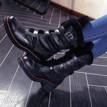 Women Full Grain Leather Wool Plush Fashion Winter Half Boots Round Toe Anti Wool Genuine Leather High Heels Shoes 1109