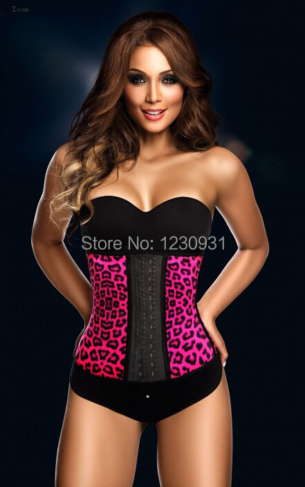 2015 Hot Sexy Photo Image Waist Training Corset Wholesale Girls And Animals Sexy Women Latex Waist Cinchers Corset Free Shipping In Bustiers Corsets From