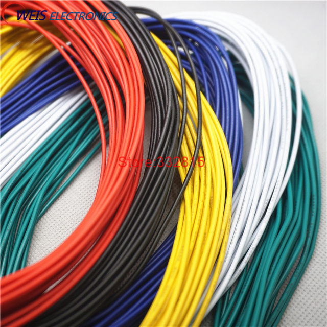 10meters UL1007 # 20 20AWG PVC electronic line cable copper wire ...