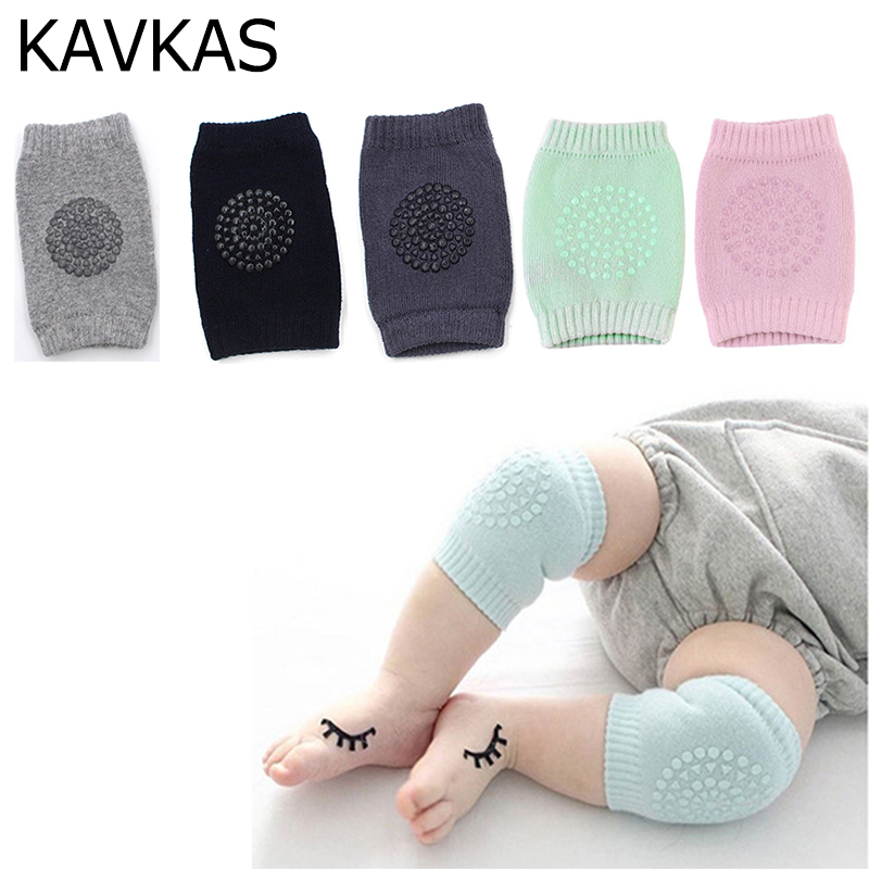 1 Pair Baby Kids Toddlers Leg Warmers Knee Pad Safety Crawling Elbow Cushion Infant Baby Knee Support Protector Baby Kneecap