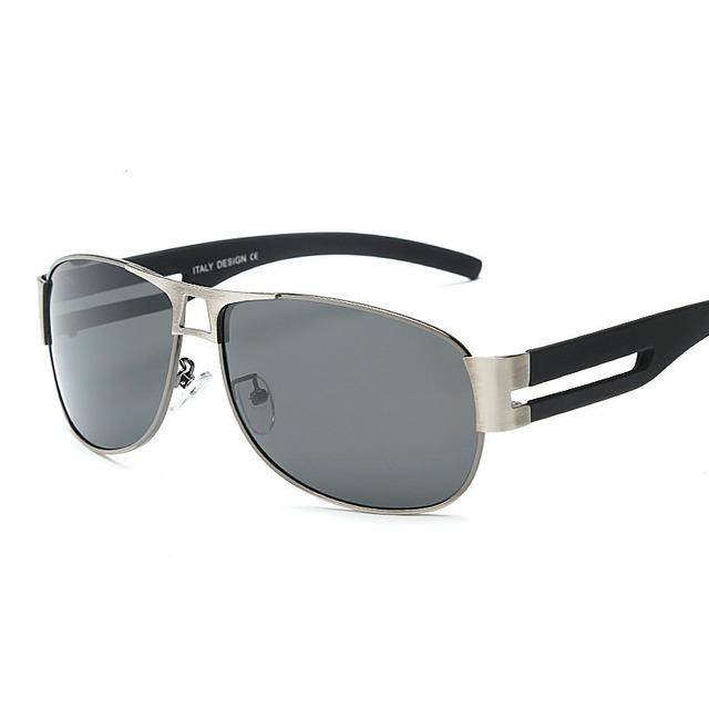 2016 TYRONE Moda Homens revestimento UV400 Polarizada óculos de Sol Condução Óculos Espelhos óculos Óculos Óculos de Sol para Homem com Caixa de Caso 8459