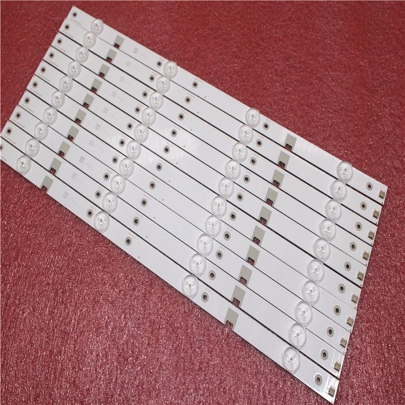 2set=20Pieces LED Backlight Strip 4 Lamp For 43N1 43U1 Light Bar CH43L43A-V01/V02/V04 DSBJ-WG