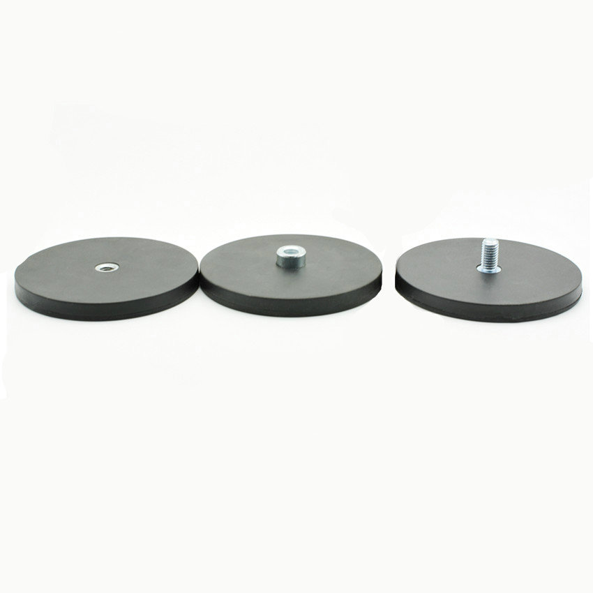 Mounting Magnetic Disc Dia. 88 mm LED Light Holding Spotlight Holder with Thread NdFeB Strong Neodymium Magnet Surface Protect