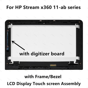 LCD Touch Screen Assembly For HP x360 11-ab Series 11-ab012nl 11-ab012tu 11-ab013nf 11-ab013tu 11-ab015nl 11-ab016tu 11-ab018tu фото