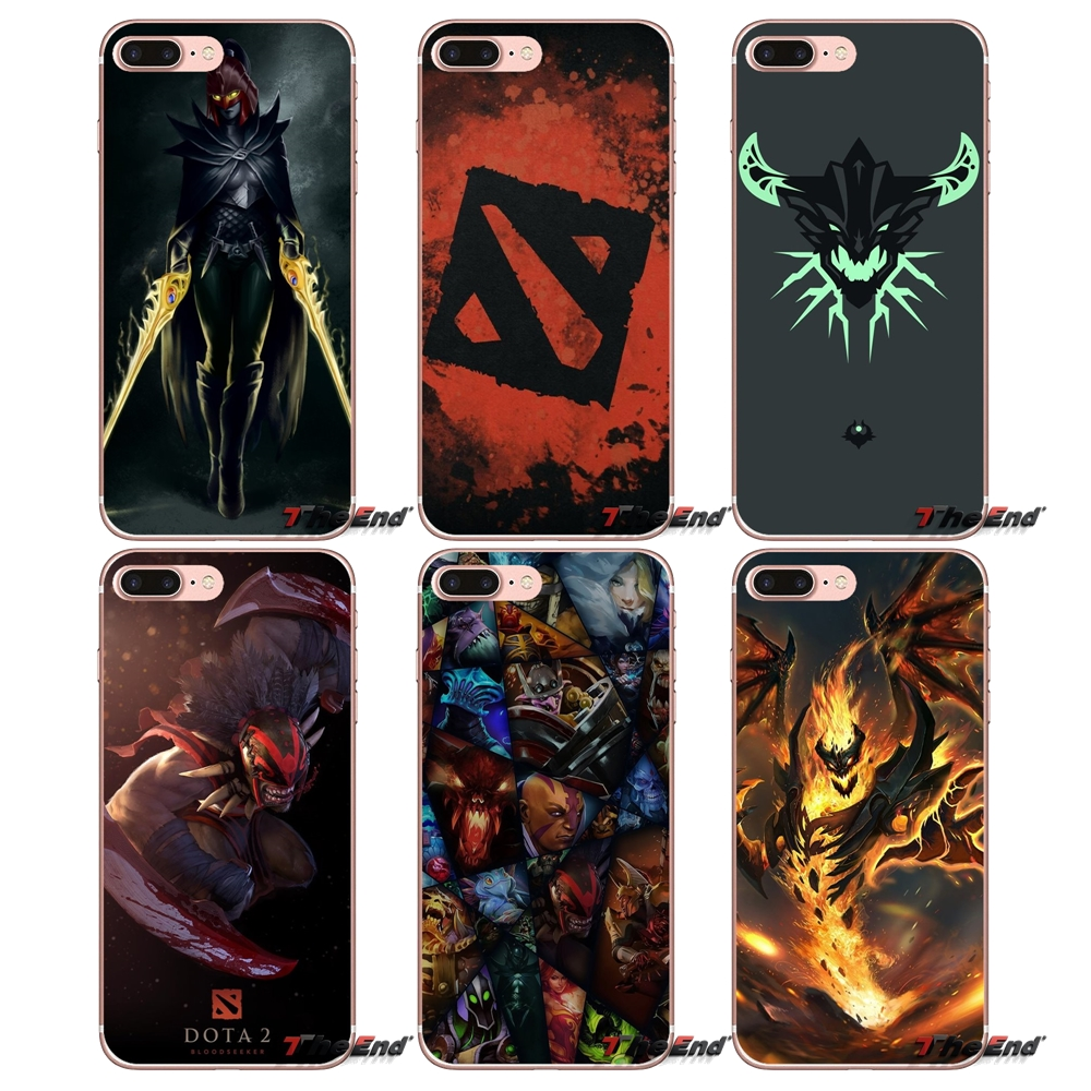 Shadow Fiend Dota 2 Transparent Soft Cover For iPhone XS ...