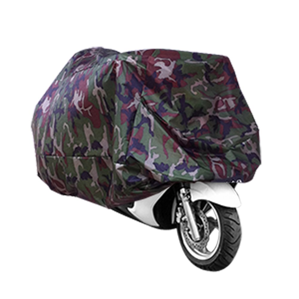 MOTO TARPAULIN COVER Camouflage Pattern Motorcycle Covers Mountain Scooter Protection Moto Couverture Xmas