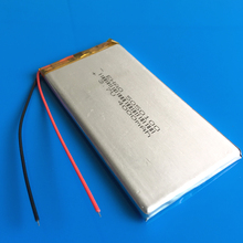 5050100 3 7V 4000mAh lithium polymer rechargeable li ion battery for GPS DVD PDA PAD power