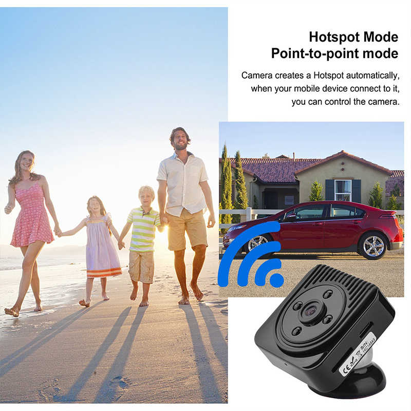 Wifi IP Mini Camera Wireless HD 1080P Infrared Micro camcorders IR Night Vision Portable Recorder Magnetic Motion PK SQ13 SQ12