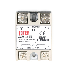 1pcs 24-380VAC 25A Solid State
