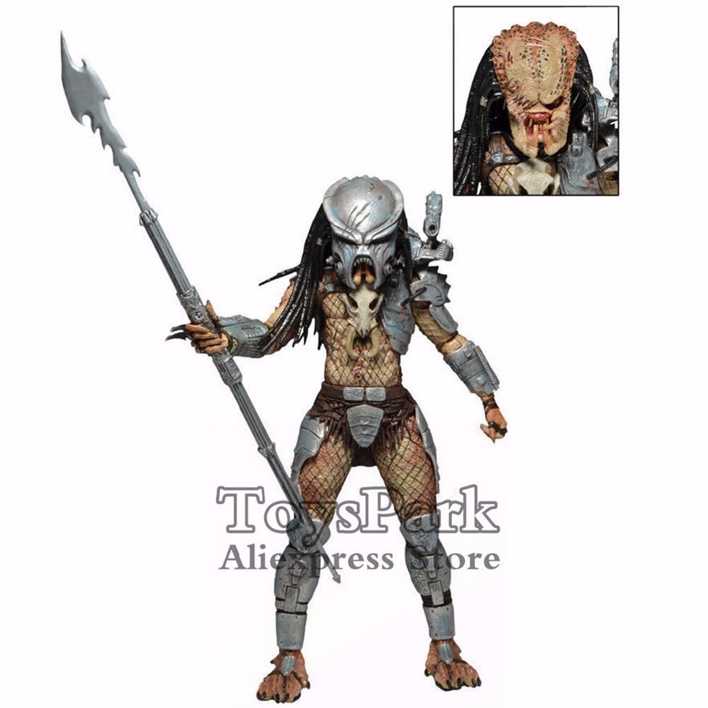 ToysPark Predator 7 Ahab Action Figure SDCC 2014 Exclusive NECA Predator 2 Series 7 Collectible New In Box цена