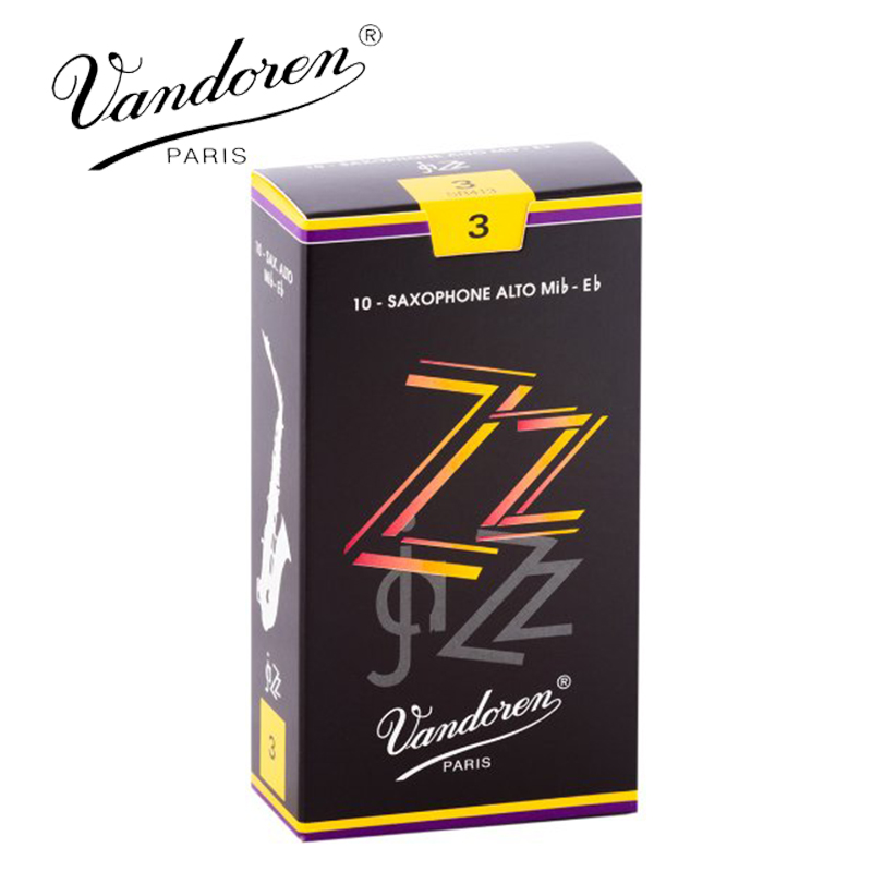 Original France Vandoren ZZ Alto Sax Reeds / Eb Alto saxophone reeds Strength 2.5#, 3#,3.5# Box of 10 [Free shipping]