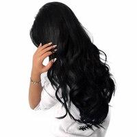 Beyo малазийской Для тела волна Синтетические волосы на кружеве Человеческие волосы Искусственные парики для черный Для женщин-Волосы Remy Иск...