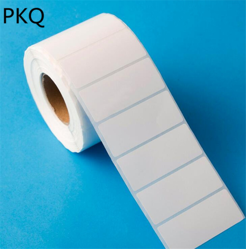 Wholesale 5000stickers White Self Adhesive Sticky White Label Writable Name  Stickers Blank Note Label Bar New Price tag-in Party DIY Decorations from