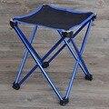 Novo Leve Quadrado de Alumínio Ao Ar Livre Portátil Dobrável Cadeira Dobrável De Pesca Ferramenta Camping cadeira de praia Fezes para picnic CHURRASCO