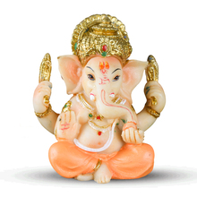 QT0082 Elephant soap mold candle mould Indian god trunk God resin clay handmade DIY silicone aroma stone molds