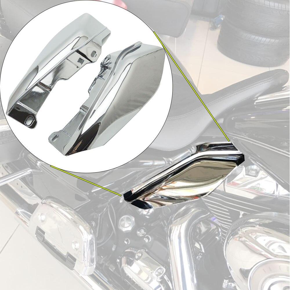 Nouveau Chrome Déflecteur D'air Garnitures pour Harley Touring Road King FLHR rue Electra Glide FLHX 2009 2010 2011 12 13 14 15 2016