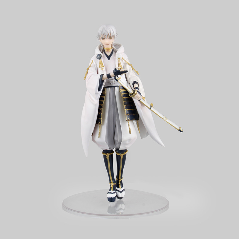 21CM Japanese anime figure Online game Touken Ranbu Online Tsurumaru Kuninaga action figure collection model toys for girls