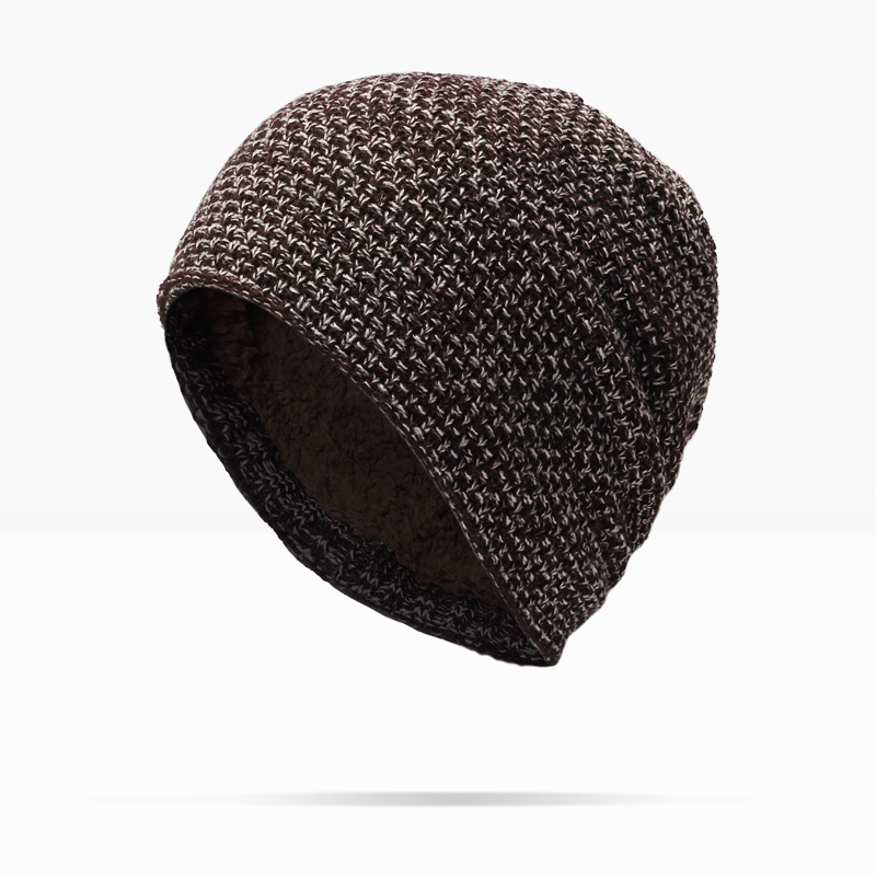 Man Hot Sale Solid Adult Casual And Woman 2017 New Fashion Warm Wool Knitted Hat Korean Style Winter Skullies&beanies Cap For the new children s cubs hat qiu dong with cartoon animals knitting wool cap and pile