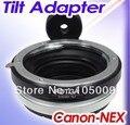 Anillo adaptador de lente de inclinación con trípode de EF para NEX e mount 5 T 5R F3 3N NEX-6 NEX-7 cámara FS700 A7II A5100 A6000 A7 A7R A7s