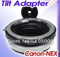 Tilt lens adapter ring with tripod for EF to NEX e mount 5T 3N NEX-6 5R F3 NEX-7 FS700 A7 A7s A7R A7II A5100 A6000 camera