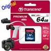 Transcend 64 32 16 GB SD Card 400x Class 10 UHS-I Flash Memory Card For Canon Nikon Casio FujiFilm Olympus Samsung GoPro Camera