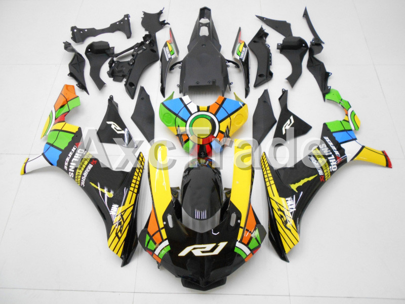 Injection Molding Motorcycle ABS Plastic Bodywork Fairing Kit Fit For Yamaha YZF1000 R1 2015 2016 2017 colours Fairing Parts YZF for yamaha tmax530 2012 2014 plastic abs injection motorcycle fairing kit bodywork cowlings