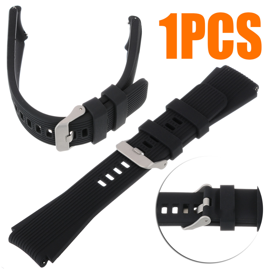 New Soft Silicone TPU Wrist Strap Watch Band For Samsung Galaxy Watch Sport Replacement Bracelet Watchband 46MM 10 Colors
