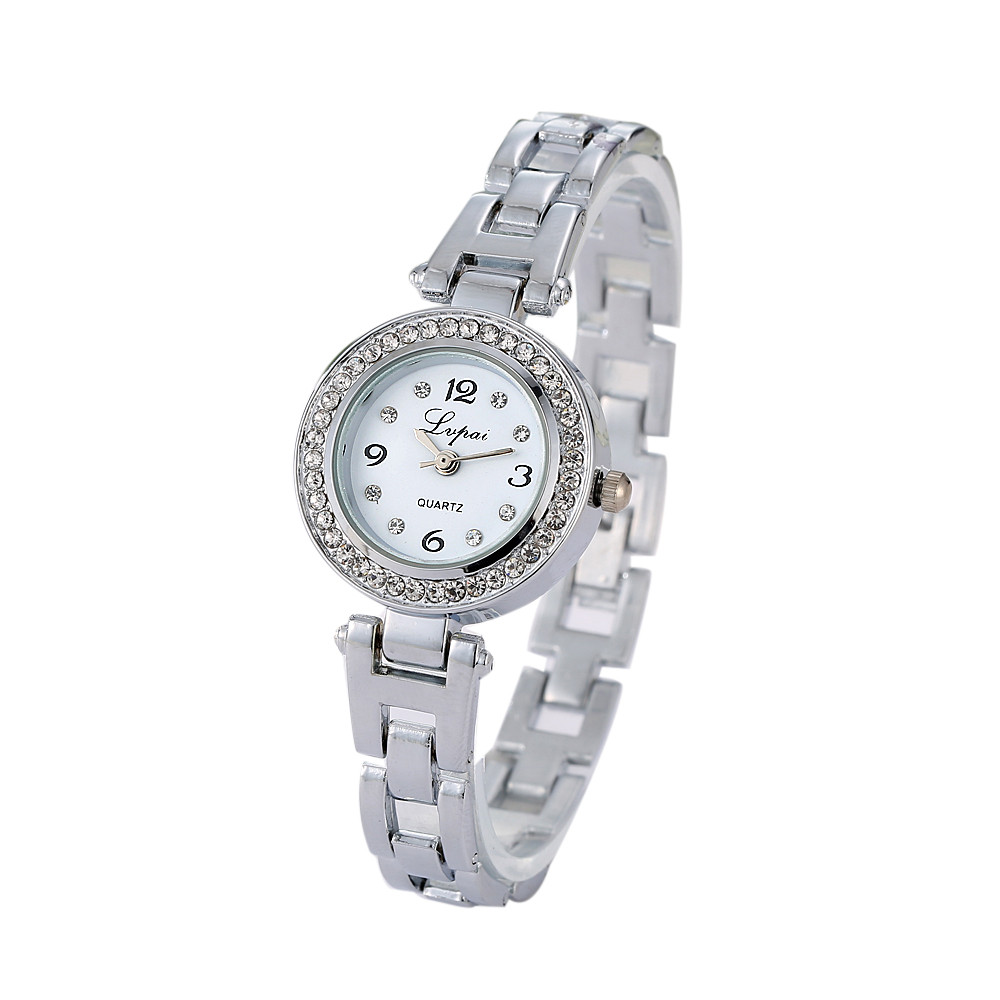 Women Watches Wome Ladies Women bayan kol saati Stainless Steel band Rhinestone Quartz Wrist Watch Montre Femme Clock Reloj Gift