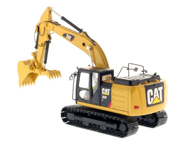 DM 85924 1:50 Katze 323F L Hydraulische Bagger mit Daumen-in Diecasts & Spielzeug Fahrzeuge aus Spielzeug und Hobbys bei  Gruppe 2