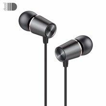 โลหะ ouvido iPhone คุณภาพเสียงหูฟังหูฟังสเตอริโอหูฟังชุดหูฟังสำหรับ