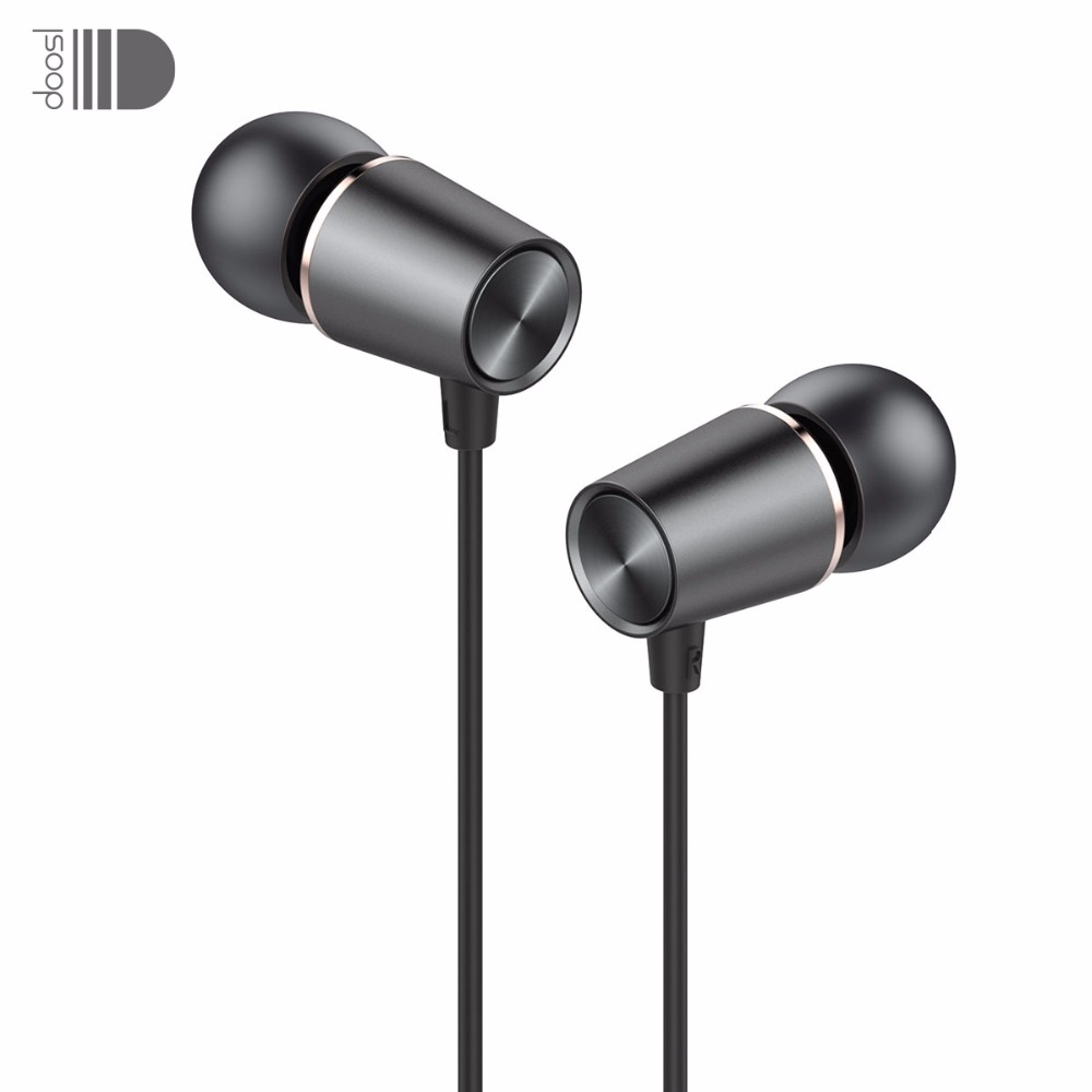 Doosl Metal HiFi In-Ear Құлақаспап Heavy Bass Sound Quality Музыка құлақаспап Stereo Earbuds Гарнитуры iPhone үшін fone de ouvido