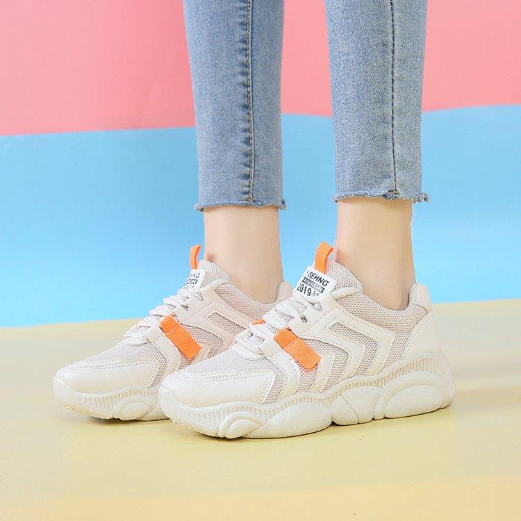 2019 Bleu D été Croix Chaussures Coréenne orange En Nouvelle Tendance Fond  Caoutchouc Sangle Casual Mode ... 4e51018a546f